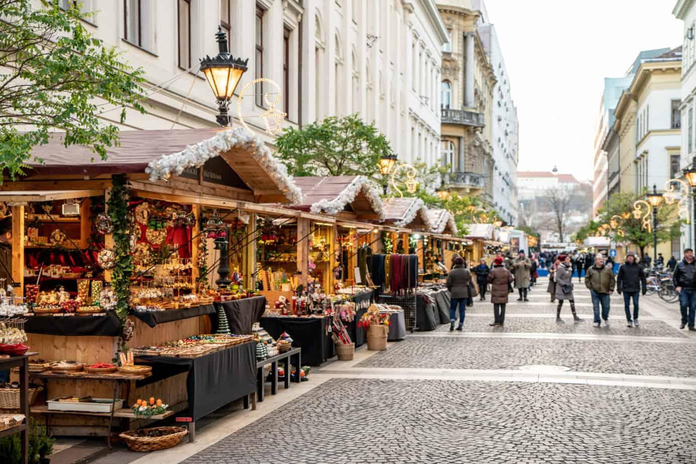 Boedapest kerstmarkt