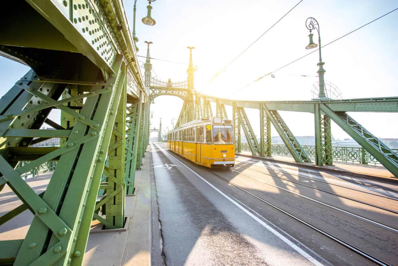 Boedapest tram