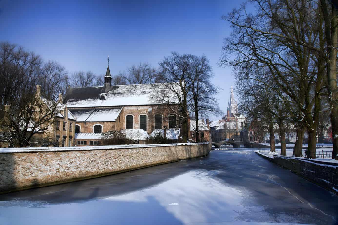 Brugge winter