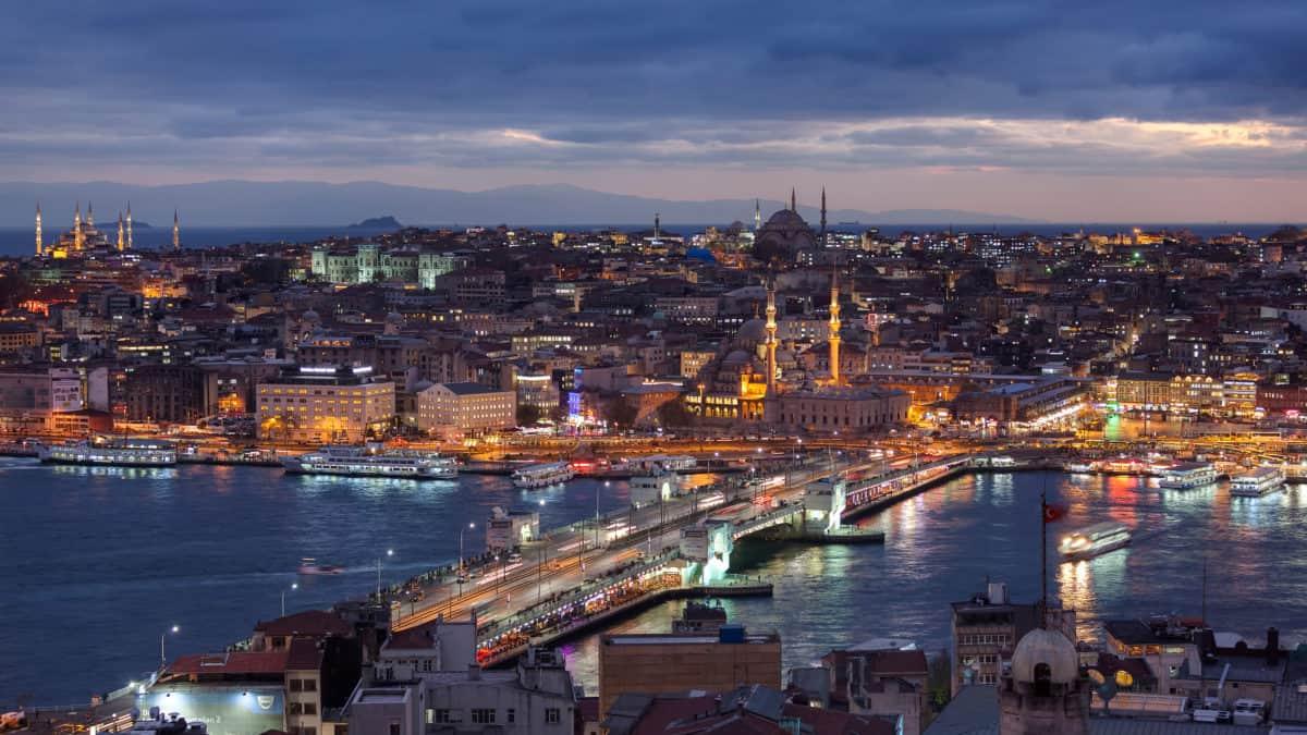 Het weer en klimaat in Istanbul