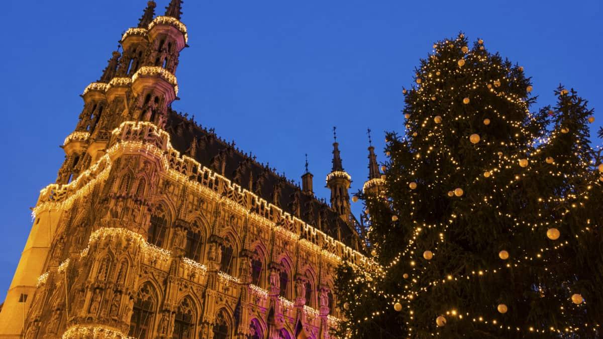 Kerstmarkten in Leuven