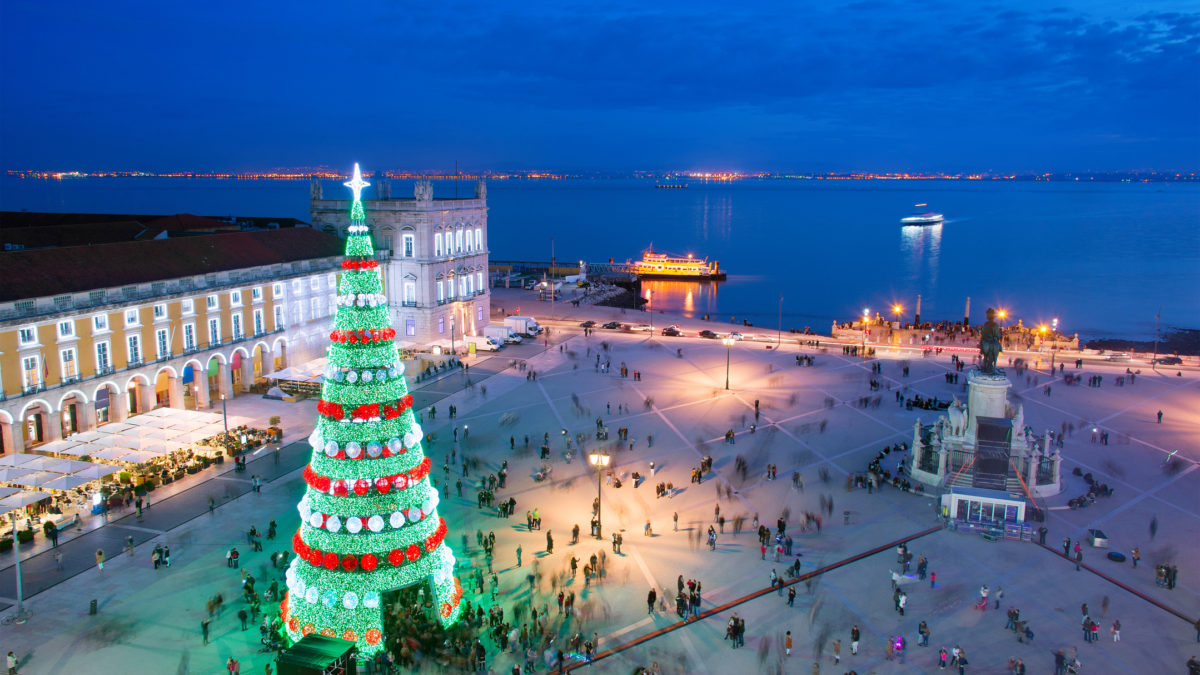 Kerstmarkt in Lissabon: helemaal in decembersfeer