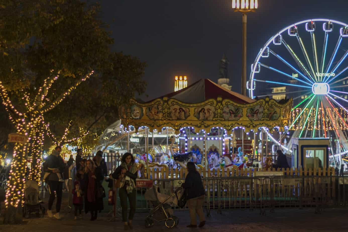 Lissabon kerstmarkt