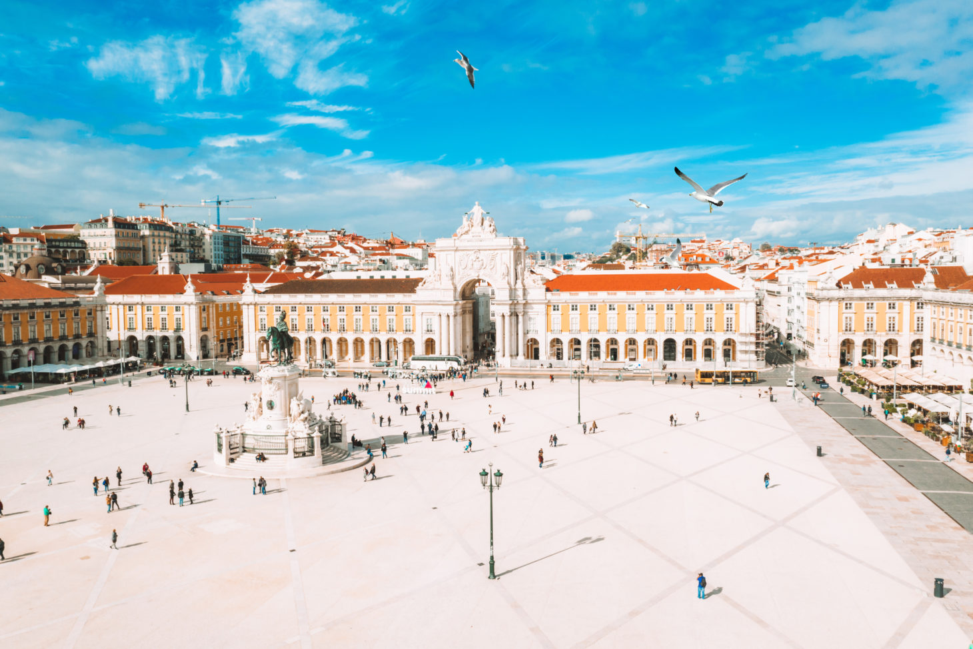 Lissabon zomer