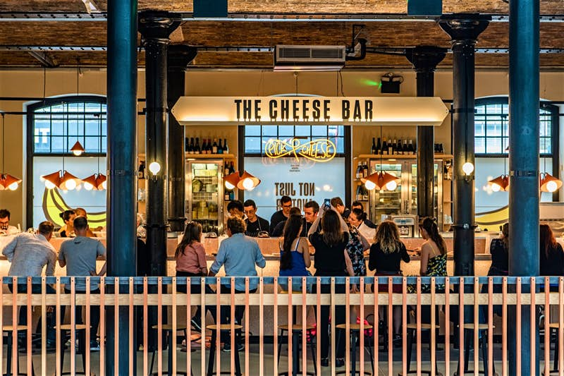 Pick and Cheese bar in Londen