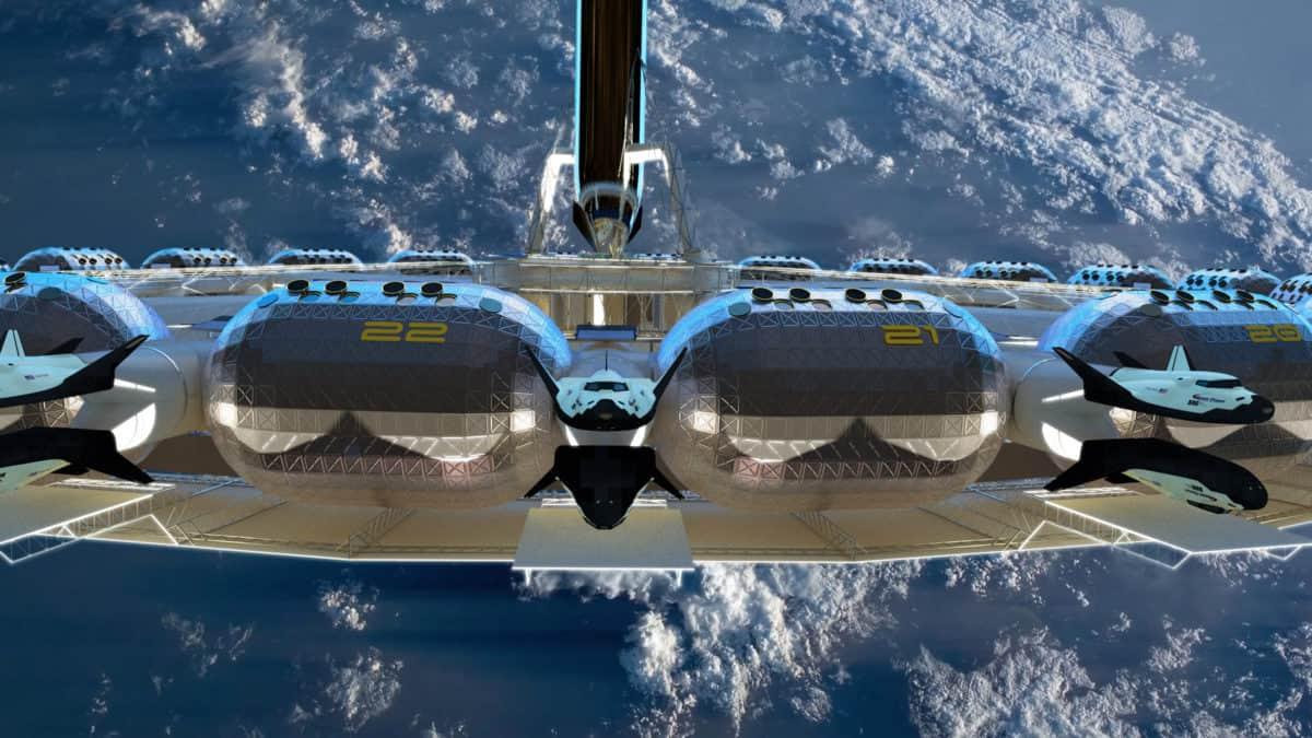 Gateway to space: welkom in het allereerste ruimtehotel
